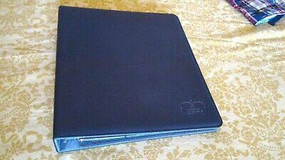 Ultimate Guard Xenoskin Supreme Collector's album 3 ring binder black + 21 pages