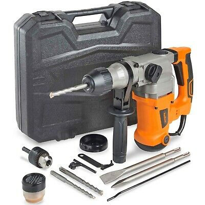 VonHaus Rotary Impact Hammer Drill 10A   Comes with SDS Drill Bits & Extra Chuck