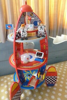 Kidkraft Wooden Space Rocket Ship Kids Spaceship Woooden Toy Eur