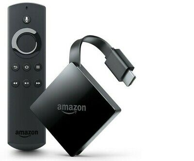 Used Amazon Fire TV with 4K Ultra HD and Alexa Voice Remote Black, 3rd Gen 2017