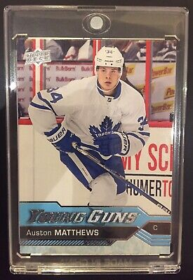 2016-17 Auston Matthews Young Guns Rookie Card #201 Toronto Maple Leafs YG RC