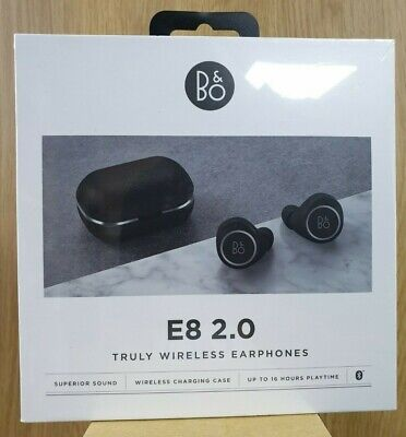 Brand New Bang & Olufsen Beoplay E8 2.0 True Wireless Bluetooth Earphones Black