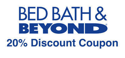 LOT OF 20 - Bed Bath And Beyond 20% Off  Single Item In Store Coupons