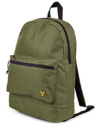 Lyle and Scott Colour Backpack in Woodland Green - rucksack, bag