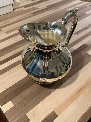 Reed and Barton Queen Anne Silver Plated Pitcher - 1-1/2 Qt.