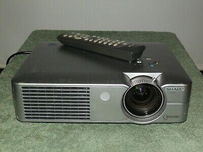 Sharp PG-A20X Portable LCD Projector - 2000 ANSI HD 1080i - Only 1386 Hours