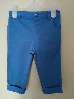 Jojo Maman Bebe Cornflower Blue Twill Trousers 4-5 Years