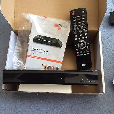 Triax HDS110 FTA HD Satellite Receiver    (JW978 DT)