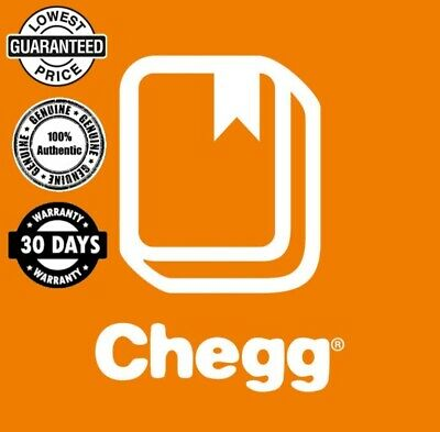 Chegg Study private account Membership 30days Premium (Your own - Not shared)