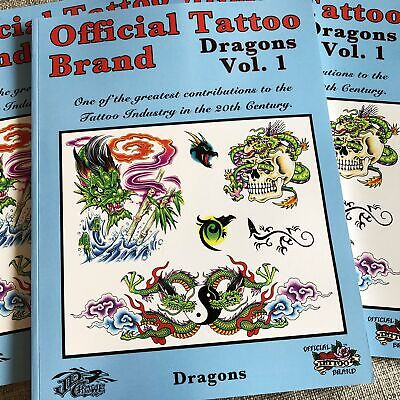 Official Tattoo Brand - Dragons Vol. 1 (DING & DENT)