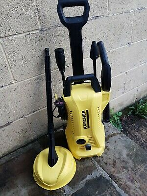 karcher k2 Full Control compact pressure washer with patio cleaning head