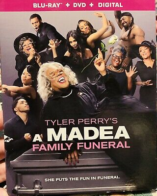 A madea family funeral blu ray, Dvd And Digital Copy 2019 Tyler Perry
