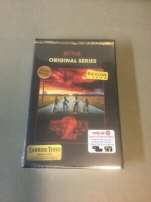 Stranger Things: Season 2 (Netflix) Collector's Edition Blu-ray/DVD/Photos *NEW*