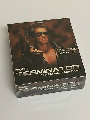 Terminator CCG Booster Box - TCG - Brand New & Sealed 24 Packets Precedence d