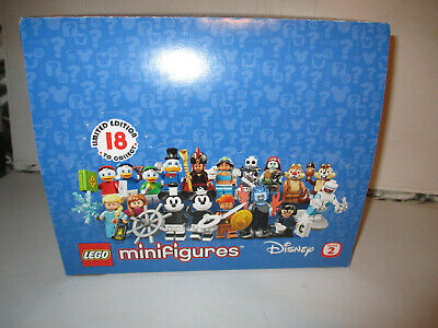 Lego Disney Series 2 Full Box Of 60 Packets Of Minifigures Brand New 71024 Lot 3