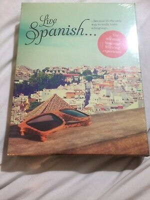 new LIVE SPANISH Ultimate Language Learning Experience TEACH YOURSELF