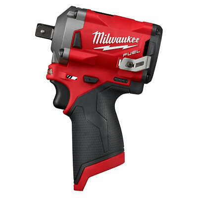Milwaukee M12 FUEL 2555P-20 12-Volt 1/2-Inch Pin Impact Wrench - Bare Tool