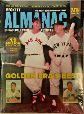 Beckett Almanac Of Baseball Cards And Collectibles Price Guide 2019 24th Edition