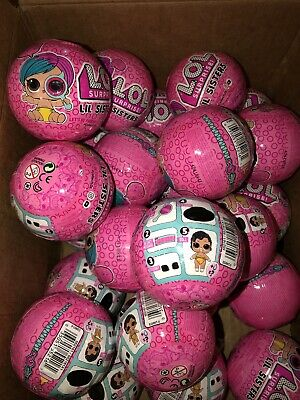 5 LOL Surprise Lil sisters Series doll. AUTHENTIC Five Balls L.O.L. Lot Of 5