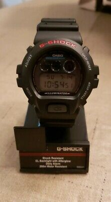 Casio DW6900-1V G-Shock 200M Watch Water Resistant Chronograph Resin Strap Alarm