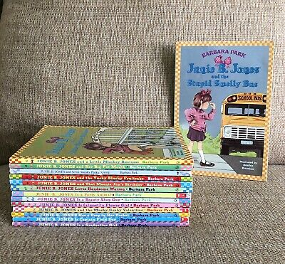 Junie B Jones Book Lot Of 14 By Barbara Park Paperback Children's Chapter Books