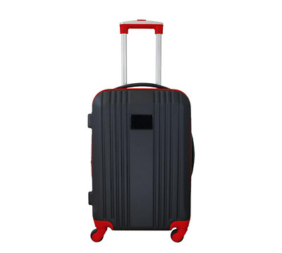 MOJO Carry-On Lightweight Hardcase 4-Wheels Spinner Expandable Two-Tone 100% ABS