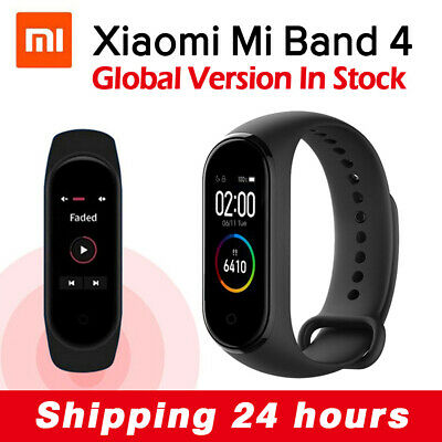 Global Version Xiaomi Mi Band 4 Smart Bracelet Watch BT 5.0 HR FitnessTracker US