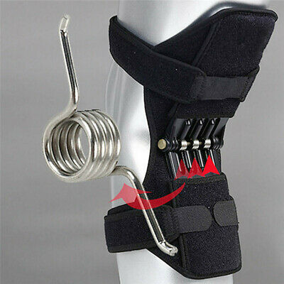 1pc Power Knee Stabilizer Pad Lift Joint Support Powerful Rebound Spring Force