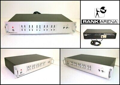 RANK ARENA RA1000 Stereo Graphic 10 Band Music Equalizer Good Working Order