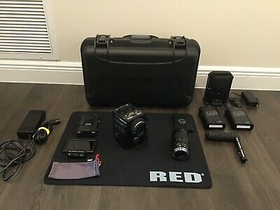 Red Red Raven 4.5K Dsmc2 W/ Touch Lcd, Redbricks,Vlock,Ready2Shoot, Low Hours!