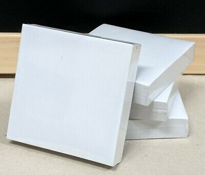 KAISITE Memo Cube Refill Paper Pad White 93 x 93mm 200 Sheets