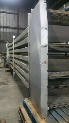 Powered Stainless Steel  Conveyor System. Tested 100% fully functional.