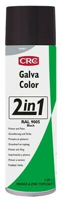 Imprimacion Galvacolor RAL 9005 negro 500ml spray CRC