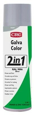 Imprimacion Galvacolor RAL 9006 plata 500ml Spray CRC