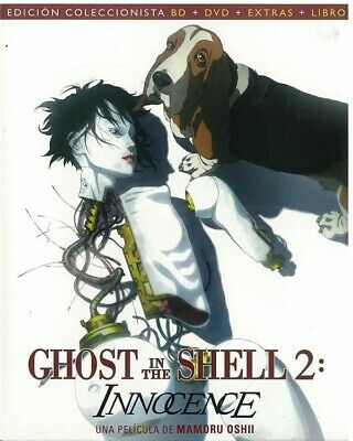 Ghost In The Shell 2 - Innocence (Blu-Ray + Dvd + Extras + Libro)