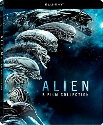 Aliens Boxset (Blu-Ray) (Ed. Metálica) (Alien 6 Films Collection)