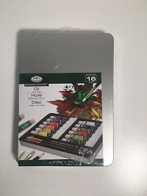 Royal & Langnickel essentials Medium Tin Oil Painting Art Set 16 Pcs ART2306