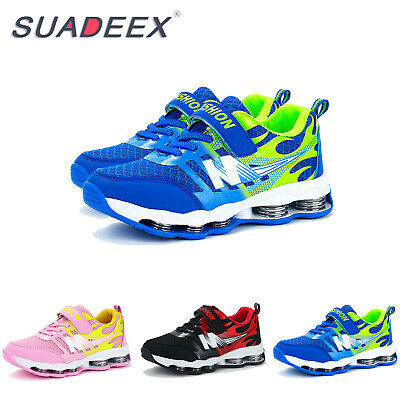 Kids Boys Girls Breathable Running Sport Outdoor School Casual Trainers Shoes UK