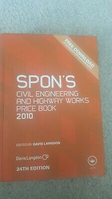 Spon's Civil Engineering and Highway Works Price Book 2010 by Davis Langdon (Ha…