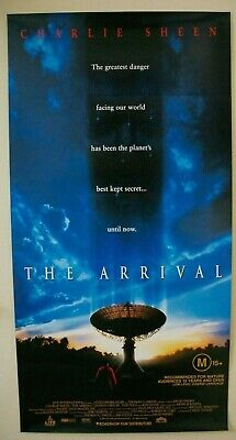 The Arrival Movie Poster Rolled
