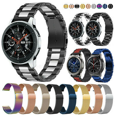 Stainless Steel Strap Watch Band For Samsung Galaxy 42/46mm/S2 S3 S4 Huawei GT