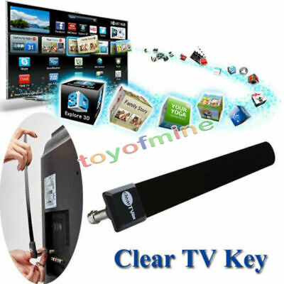 Clear TV Key HDTV FREE TV Digital Indoor Antenna Ditch Cable As   on TV US