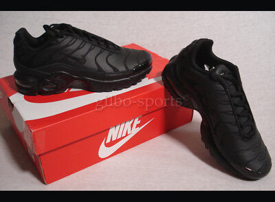 professional sale running shoes biggest discount NIKE AIR MAX Plus LE BG Leather Echtleder Black Gr 37 37,5 ...