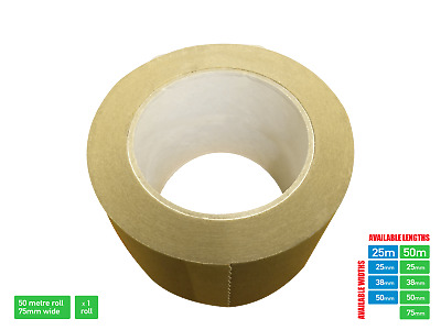 Picture Framing Self Adhesive Brown Craft Professional Framing Tape 75mm x 50m
