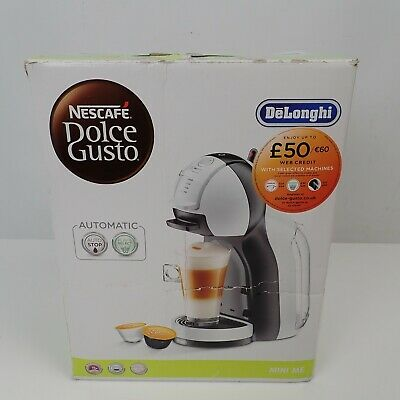 Nescafe WB DeLonghi EDG305 Dolce Gusto Mini Me Automatic Pod Coffee Machine, 0.8