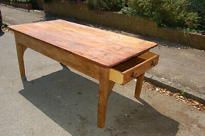 COUNTRY HOUSE PREP TABLE,PINE ,KITCHEN,VINTAGE,ANTIQUE,GT  Barford manor house