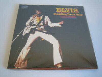"""2 CD Elvis Presley: Standing Room Only (Recorded Live-On Tour) (2009 FTD 7"""")"""