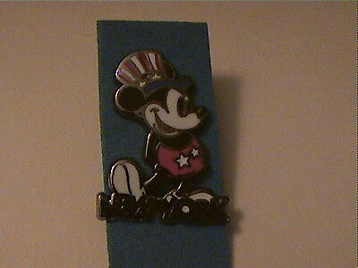 Disney Mini Mickey Flag Pose Uncle Sam Patriotic Jerry Leigh Disney Pin