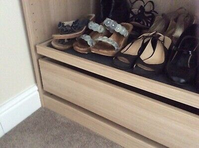 IKEA KOMPLEMENT SLIDING Pull Out Shoe Rack for Pax Wardrobe
