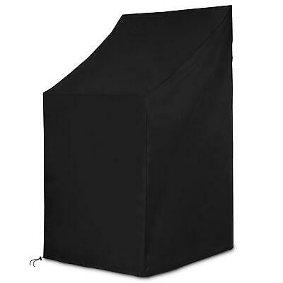 Dokon Patio Stacking Chair Cover Garden Waterproof Breathable 65 X 120/80 Cm